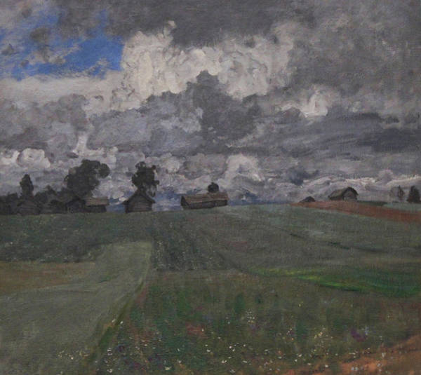 Stormy Day Art Print by Isaac Levitan