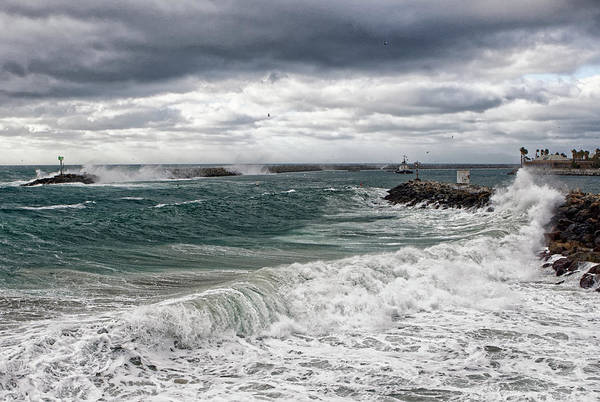 Photograph - Stormy Day On Redondo by Michael Hope