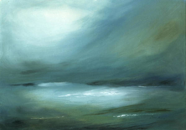 Wall Art - Painting - Stormy Haze by Juan Bosco