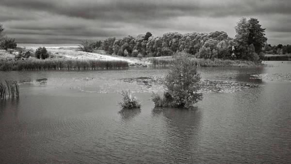 Photograph - Stormy Lake. Malyi Lystven, 2013. by Andriy Maykovskyi
