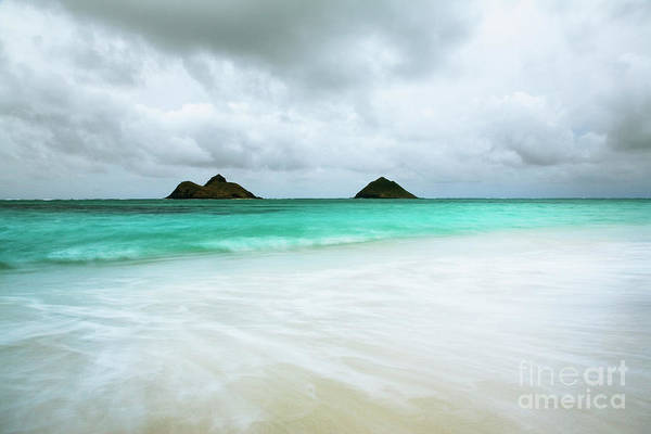 Photograph - Stormy Lanikai by Charmian Vistaunet
