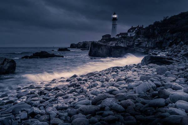 Photograph - Stormy Lighthouse 2 by Doug Camara