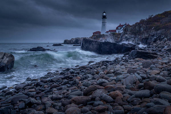 Photograph - Stormy Lighthouse by Doug Camara