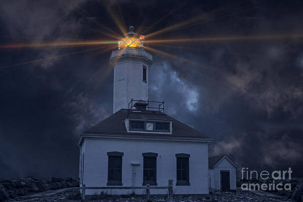 Port Townsend Photograph - Point Wilson Lighthouse by Jim Hatch
