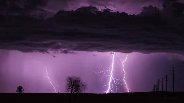 Monsoon Photograph - Stormy Monday by Medicine Tree Studios
