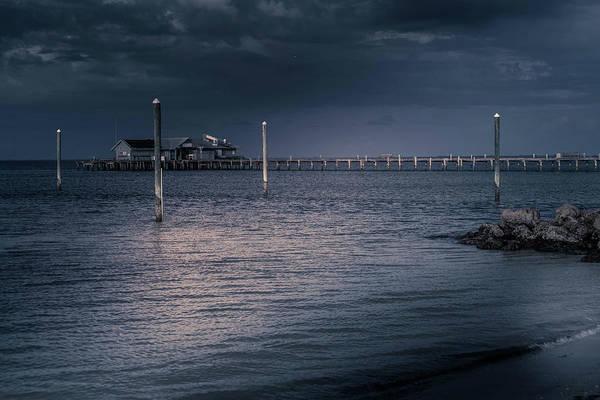 Photograph - Stormy Pier by Doug Camara