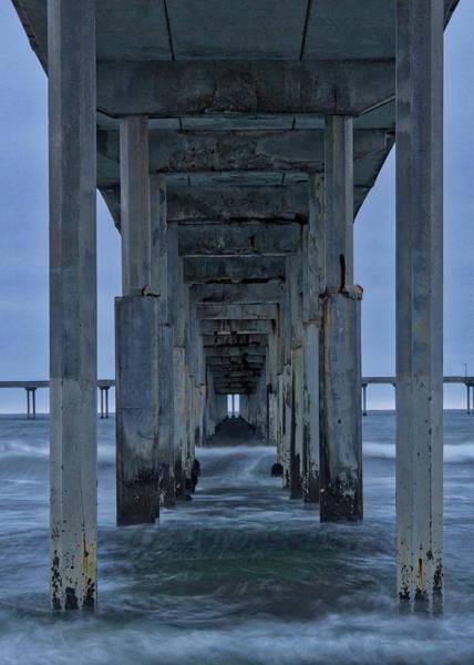 Photograph - Stormy Pier In Ocean Beach by Bryant Coffey