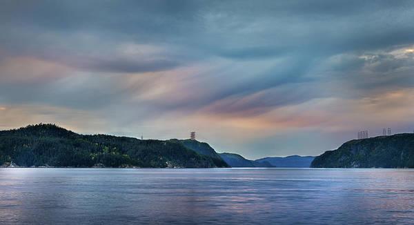 Stormy Saguenay Sunset Art Print