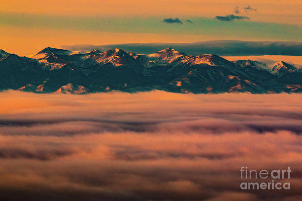 Photograph - Stormy Sangre De Cristo Sunrise by Steve Krull