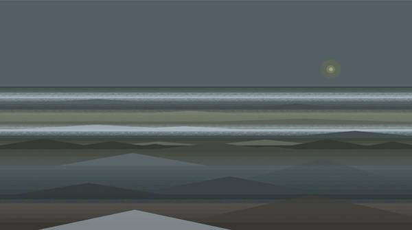 Digital Art - Stormy Sea by Val Arie
