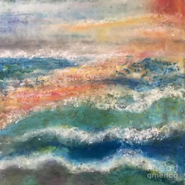 Painting - Laguna Sunset by Kim Nelson