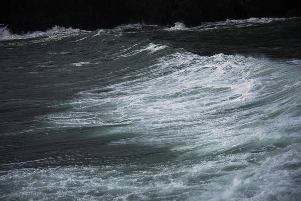 Photograph - Stormy Seas In Oregon by Robert Potts