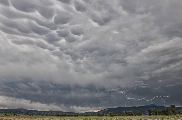 Wall Art - Photograph - Stormy Skies In Wyoming by Sandra Bronstein