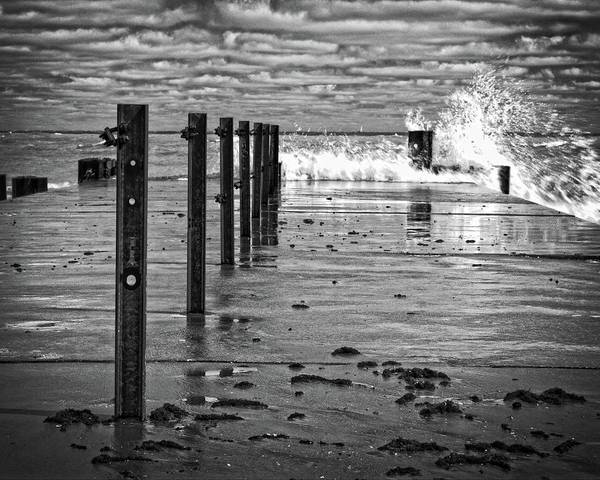 Photograph - Stormy Skies Over Lake Michigan by Miguel Winterpacht