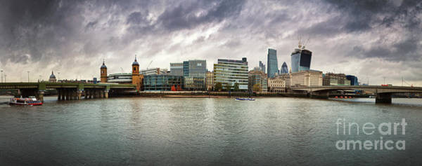 Wall Art - Photograph - Stormy Skies Over London by Jane Rix