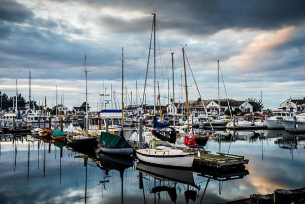 Port Townsend Photograph - Stormy Skies by TL  Mair