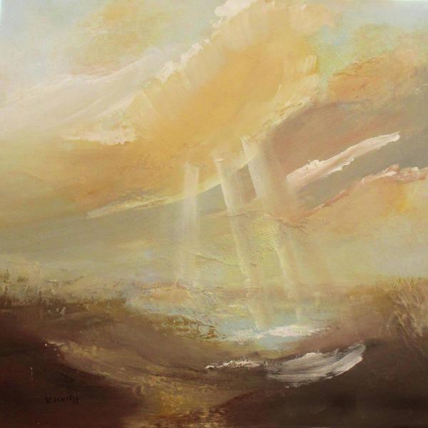 Painting - Stormy Skies   by Valerie Anne Kelly