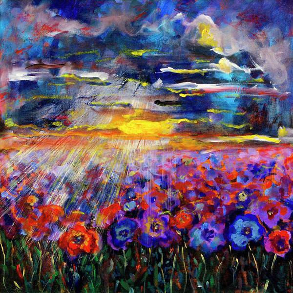 Painting - Stormy Sky by Maxim Komissarchik