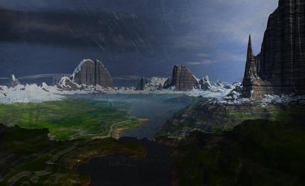 Southwest Digital Art - Stormy Southwest by Heinz G Mielke