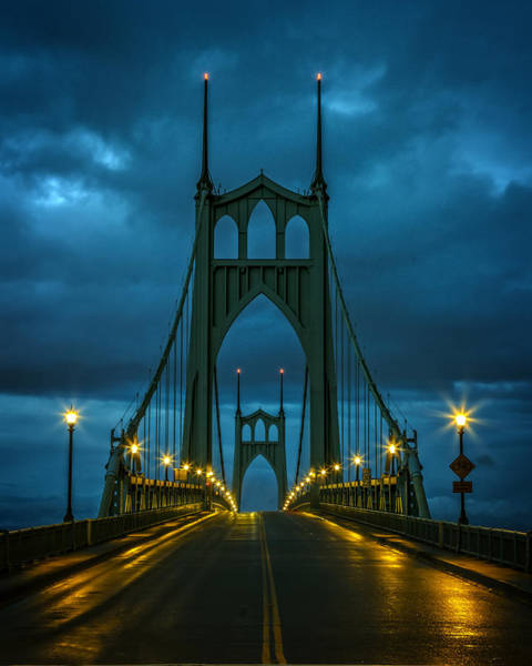 Photograph - Stormy St. Johns by Wes and Dotty Weber
