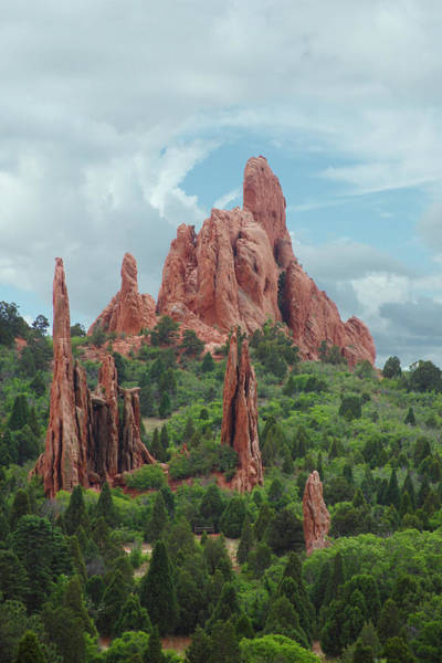 Photograph - Stormy Summer Day At Garden Of The Gods by Marie Leslie