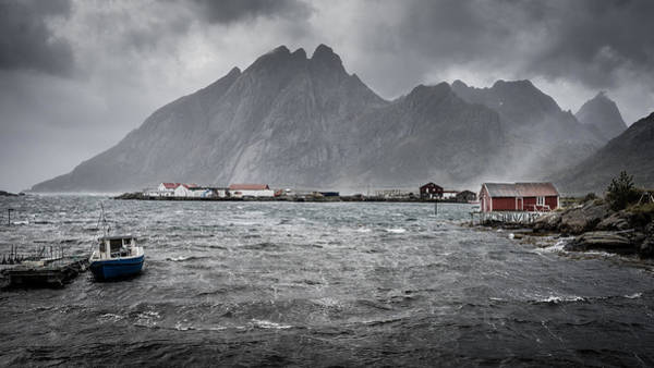 Photograph - Stormy Sund by James Billings
