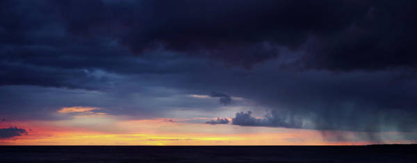 Photograph - Stormy Sunset by Christopher Johnson