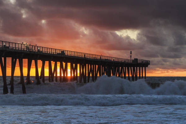 Photograph - Stormy Sunset by Ed Clark