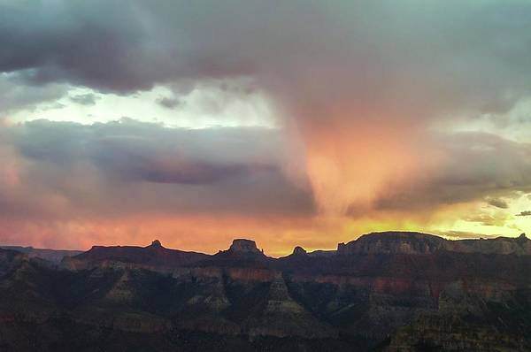 Photograph - Stormy Sunset From Marion Point Campsite by NaturesPix