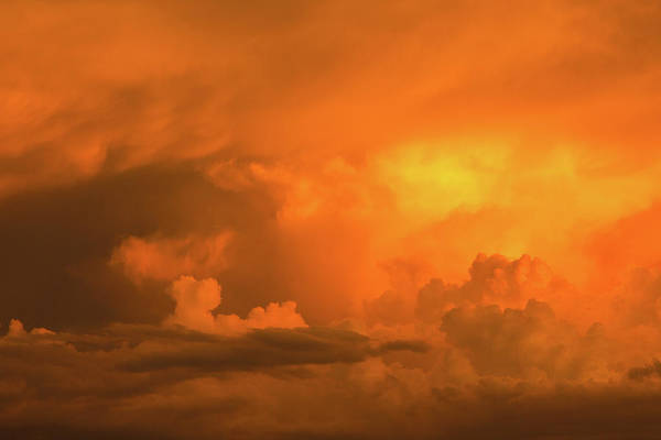 Photograph - Stormy Sunset by SR Green