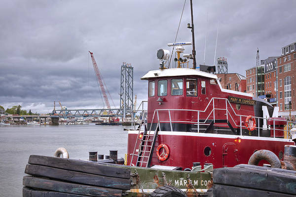 Wall Art - Photograph - Stormy Tug by Eric Gendron
