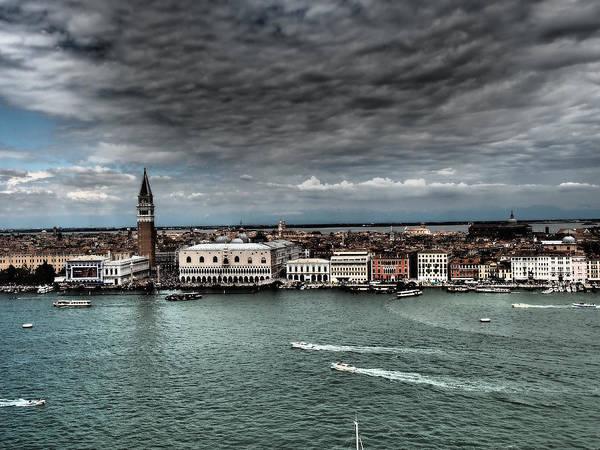 Tormenta Wall Art - Photograph - Stormy Venice by Giorgio Lumaconi