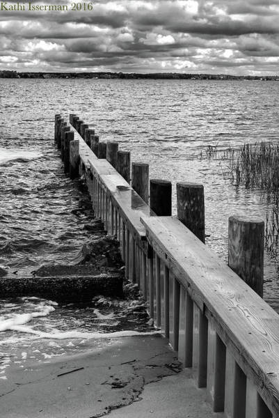Wall Art - Photograph - Stormy Waters by Kathi Isserman