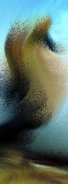 Whirl Digital Art - Stormy Weather Abstract by Georgiana Romanovna