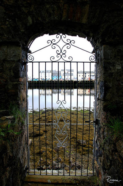 Photograph - Stornoway Seaside Gate by Rasma Bertz