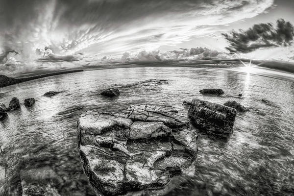 Photograph - Storny Peace Sunset by David Heilman