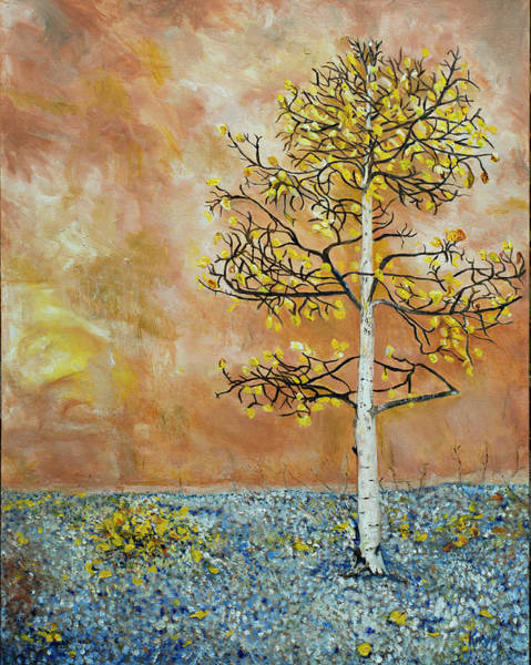 Painting - Storytree by Kathy Knopp