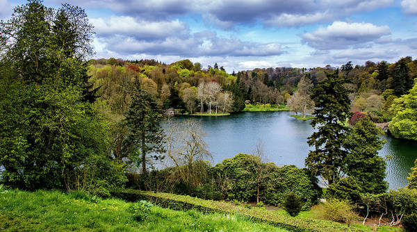 Stourhead Photograph - Stourhead Lake And Forest by Ian Watts