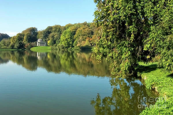 Stourhead Photograph - Stourhead Reflections 4 by Susie Peek