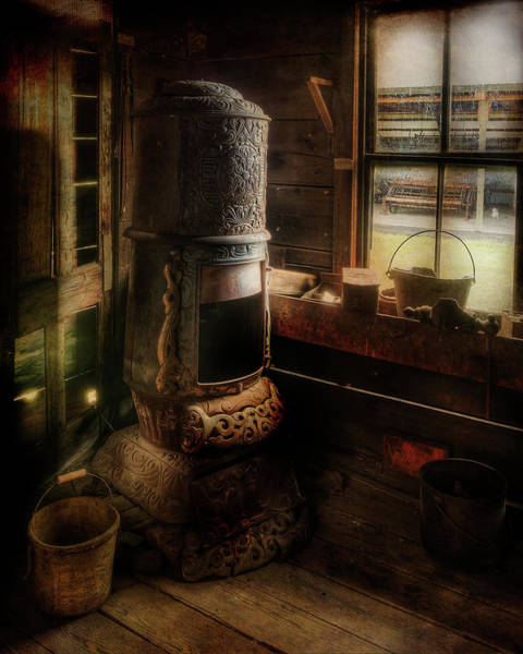 Photograph - Stove by Doug Matthews