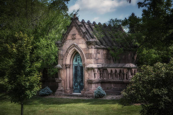 Graveyard Wall Art - Photograph - Strader Mausoleum by Tom Mc Nemar