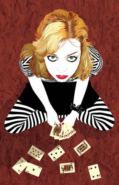 Digital Art - Straight Flush by Jason Casteel
