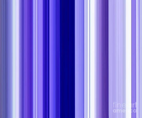 Vertical Line Digital Art - Straight Forward by Krissy Katsimbras