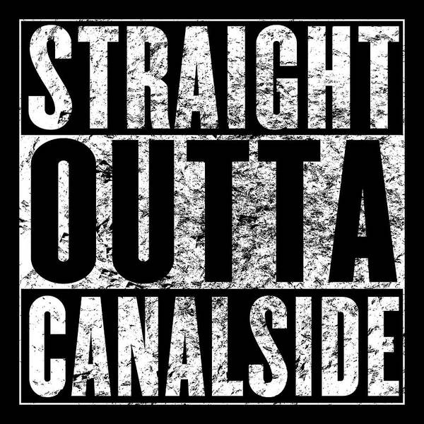 Digital Art - Straight Outta Canalside by Chris Bordeleau