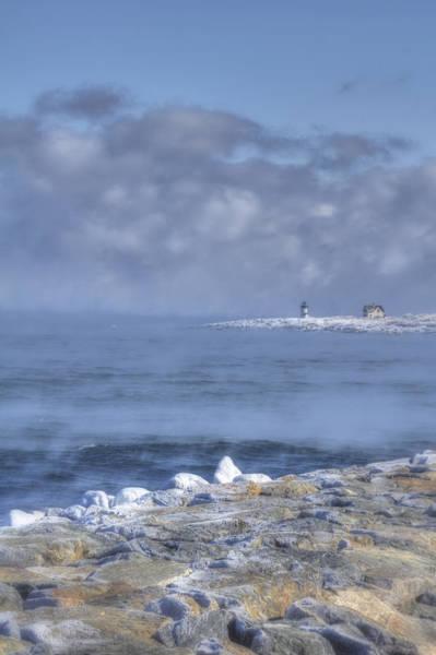 Photograph - Straitsmouth Island Lighthouse - Rockport Ma by Joann Vitali