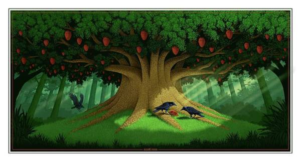 Digital Art - Strange Fruit by Scott Ross