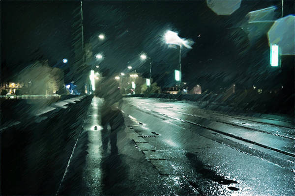 Photograph - Stranger In The Night by Jenny Rainbow
