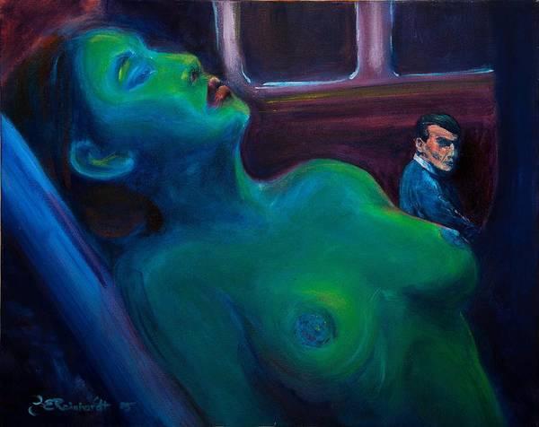 Painting - Stranger On A Train by Jason Reinhardt