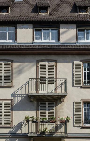 River Ill Wall Art - Photograph - Strasbourg Balconies by Teresa Mucha
