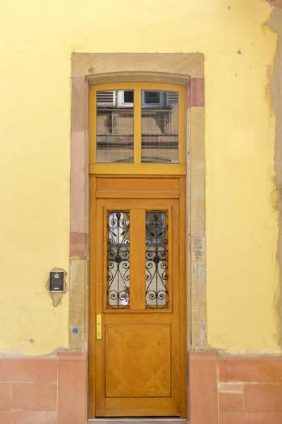 River Ill Wall Art - Photograph - Strasbourg Door 03 by Teresa Mucha